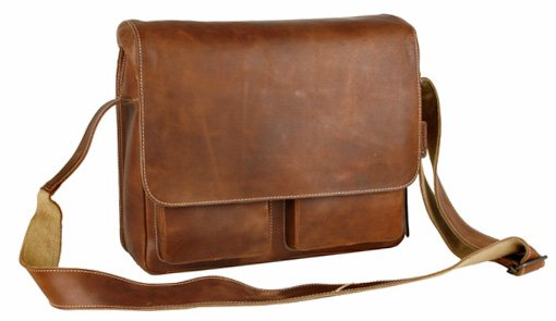 NICK Laptoptasche vintage tan