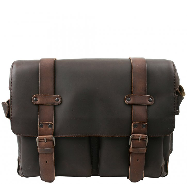 Aunts & Uncles DAN Laptoptasche dark brown