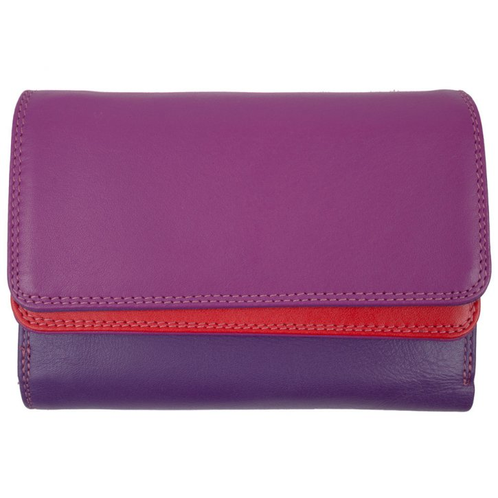 mywalit Double Flap Purse/Wallet Damenbörse sangria multi