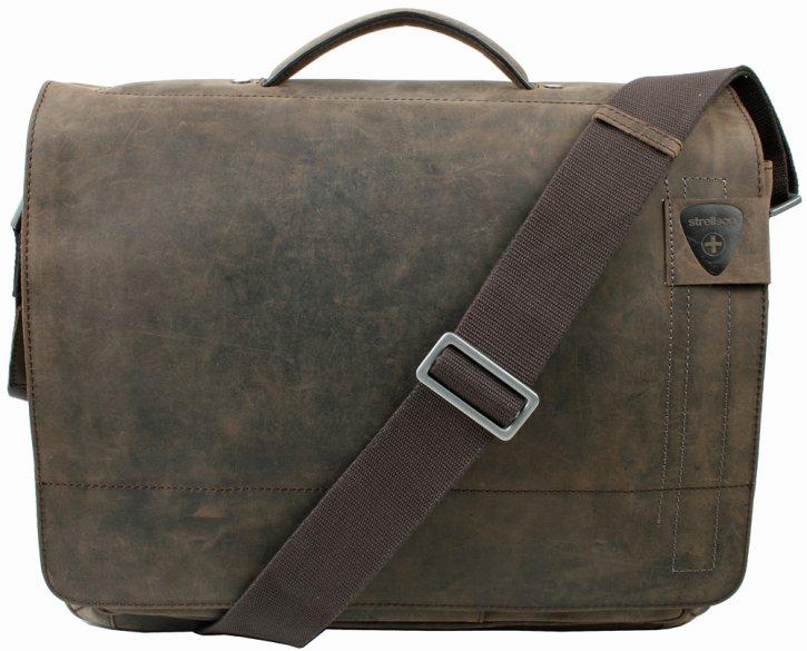 Strellson Business Bag mit Laptopfach dark brown
