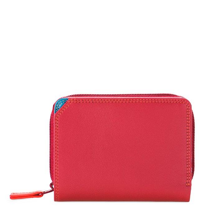 Small Wallet Zip Around Damenbörse vesuvio
