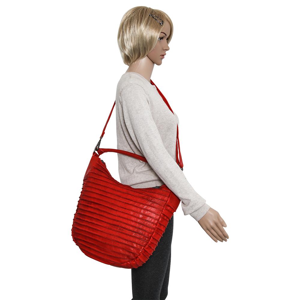neue Stile Angebot neue Fotos FredsBruder - RIFFELTIER S Beuteltasche cherry red