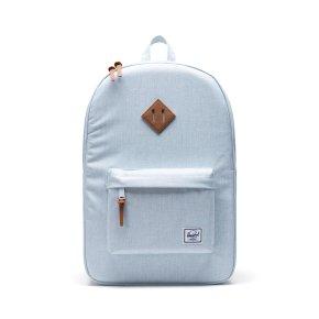 HERSCHEL HERITAGE CLASSICS Rucksack mit Laptopfach ballad blue pastel crosshatch