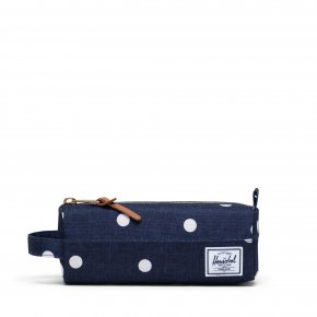 HERSCHEL SETTLEMENT polka dot crosshatch peacoat