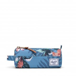 HERSCHEL SETTLEMENT Stiftemäppchen summer floral heaven blue