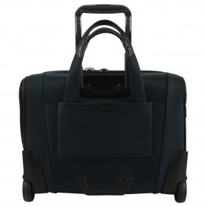 "Samsonite PRO-DLX 5 15.6"" oxford rolling tote Laptoptasche blue"
