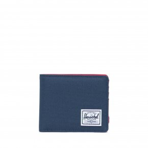 HERSCHEL ROY COIN RFID navy/red