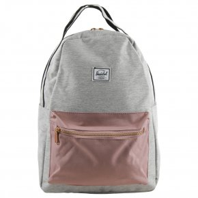 HERSCHEL NOVA MID light grey/ash rose