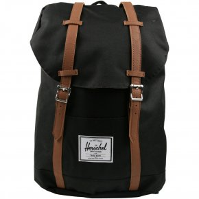 HERSCHEL RETREAT Rucksack Black/Tan