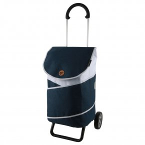 Andersen SCALA PLUS  Einkaufstrolley JARL blau