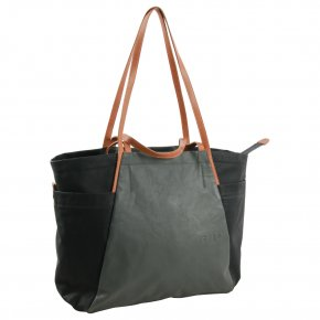 Aunts & Uncles SAPPORO Shopper black/gravity grey