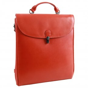 Aunts & Uncles CLAUDETTE Laptoprucksack carrot