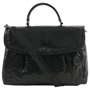 Aunts & Uncles MRS VELVET PIE Henkeltasche black smoke