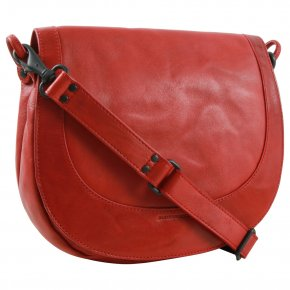Aunts & Uncles MRS CHEESECAKE Saddle-bag crimson red