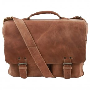 Aunts & Uncles JACK Aktentasche vintage tan