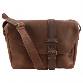Aunts & Uncles MEDIUM MILES Postbag L vintage tan