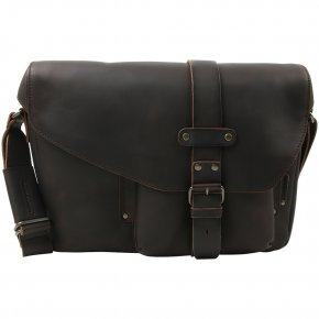 MEDIUM MILES Postbag L vintage brown