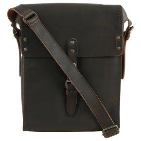 TYLER Postbag M vintage brown