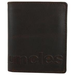 Aunts & Uncles PHIL logo Portemonnaie vintage brown