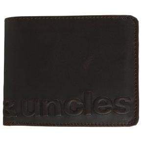 Aunts & Uncles MATT logo Portemonnaie vintage brown