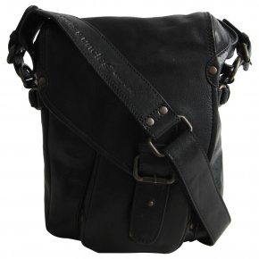 CLYDE black suit postbag