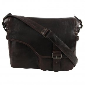 Aunts & Uncles CHANDLER dark cigar Laptoptasche