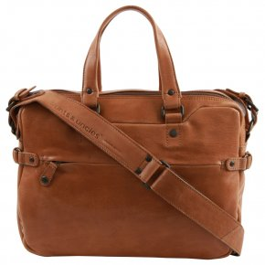 Aunts & Uncles EARL Laptoptasche cognac