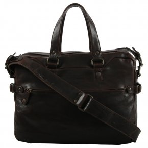 Aunts & Uncles EARL Laptoptasche dark cigar