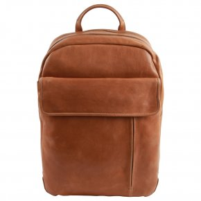 LOGAN cognac businessbackpack