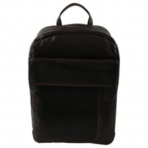 LOGAN dark cigar suit businessbackpack