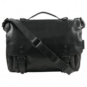 STRATEGIST Postbag Businesstasche XL black