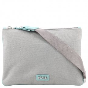 BREE LIMOGES 6 Schultertasche light grey/light blue