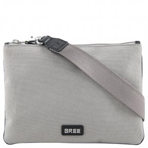 BREE LIMOGES 6 Schultertasche light grey/black