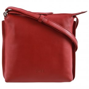 BREE TOULOUSE 1 Schultertasche brick red cross