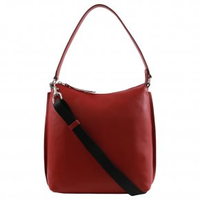 BREE TOULOUSE 4 Beuteltasche brick red