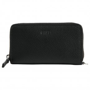 LIV 134 black M grained purse