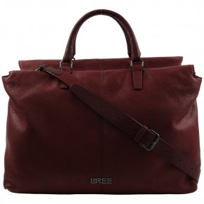 COUCO Work Shopper brick red print