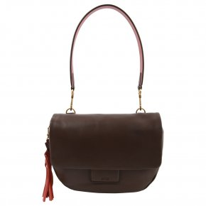 BREE JERSEY 2 Schultertasche cacao/tabasco