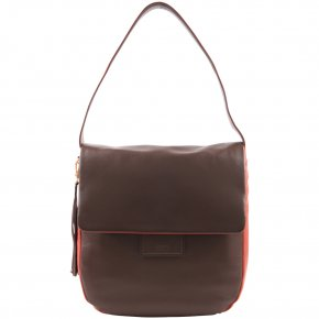 BREE JERSEY 3 Schultertasche cacao/tabasco