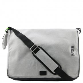 BREE Punch STYLE 711 Laptoptasche light grey