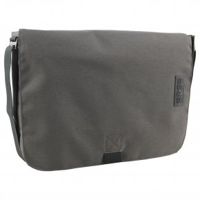 BREE PUNCH STYLE 49 grey denim messenger