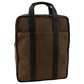 BREE PNCH CASUAL 716 Laptoprucksack beige/black