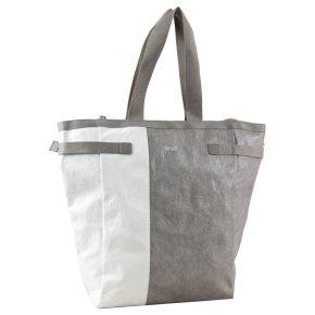 BREE VARY 6 Handtasche grey/white