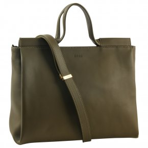 BREE PURE 5 Shopper S olive