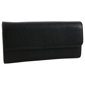 BREE Nea 161  Portemonnaie RFID black grained