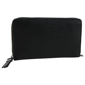 BREE Nea 162  Portemonnaie RFID black grained
