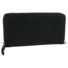 BREE Nea 163 Portemonnaie RFID black grained