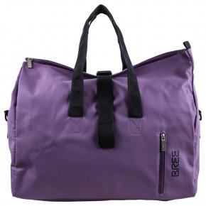 BREE PUNCH 723 Reisetasche pat.purple flieder