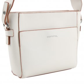 Comma EVERYDAY Schultertasche offwhite