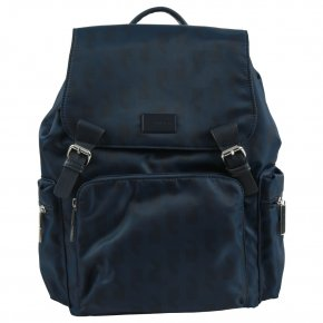 Comma ANY TIME Rucksack dark blue